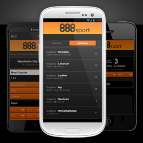 888 mobile android and iOS phones