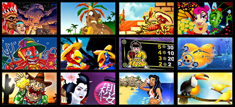 Bwin games 12 small pictograms