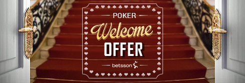 betsson poker welcome offer