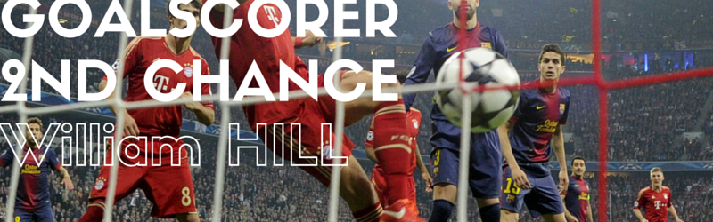 William hill bonus tweede goal