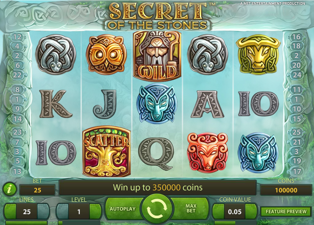 Polder Casino bonus Secrets of Stones