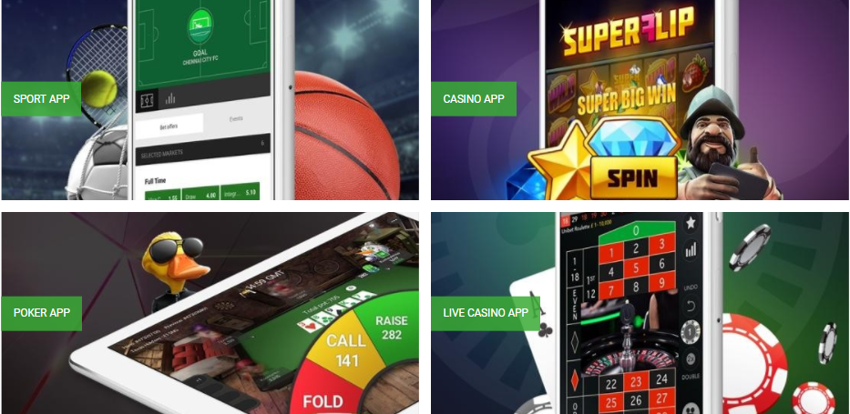 unibet sports app Systeemvereisten